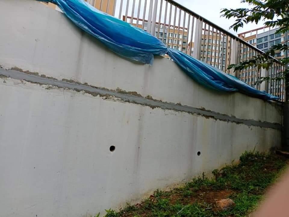 concrete cracks repair